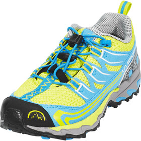 La Sportiva Falkon Low Shoes Kids Sulphur/Blue